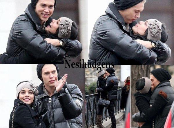 Vanessa et austin butler  à Paris