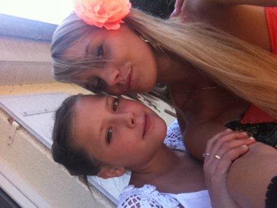mon petit ange et moi <3
