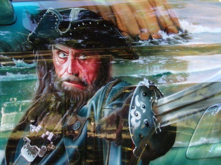 TRUCKSHOW SAINTE EULALIE 2016...  SCANIA STC pirates des caraibes