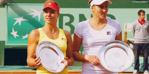 | Roland Garros 2012 | Maria Kirilenko et Nadia Petrova s'incline en finale du double à Roland Garros.