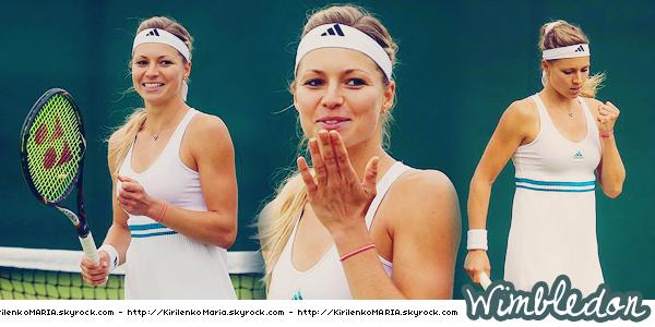 | Wimbledon 2012 | Maria quart de finaliste du tournoi, son meilleur Wimbledon.