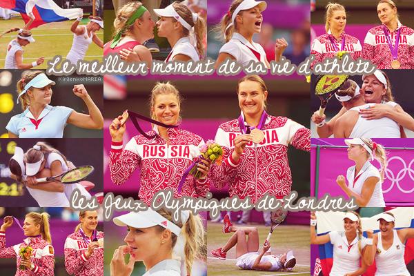 | Jeux Olympique de Londres 2012 | Maria Kirilenko représentera la Russie.