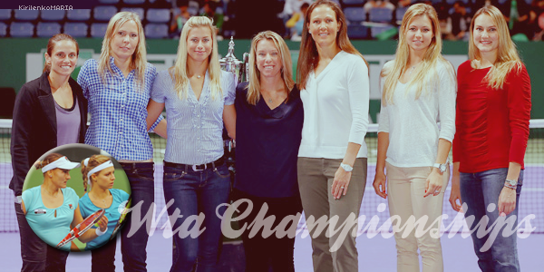 | WTA Masters d'Istanbul | Maria Kirilenko et Nadia Petrova en course pour le titre.