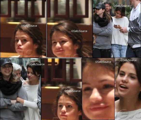 * Selena à Los Angeles le 8 Janvier.  *
