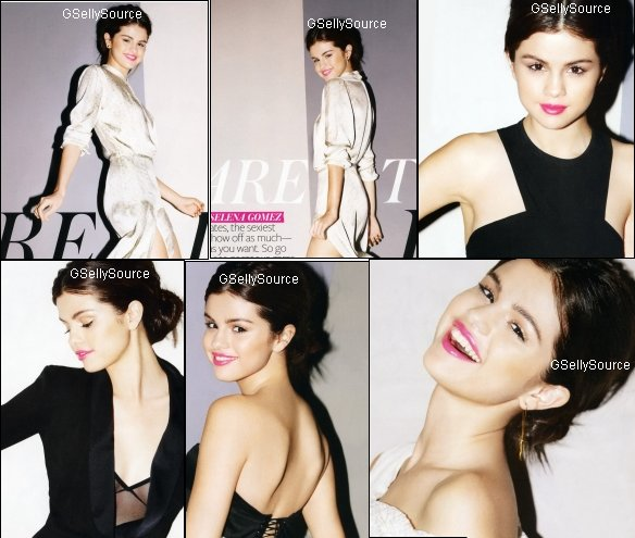 * Photoshoot de Selena du magazine In Style.  *