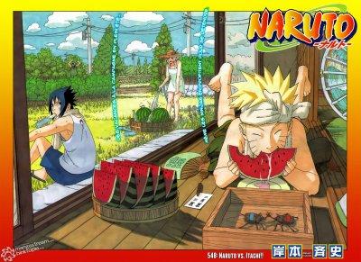 naruto et sakura et sasuke en vacances!!!
