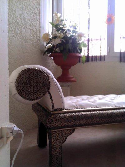 Canapé Cuir Style Orientale Moderne