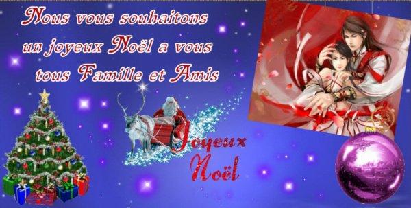 Joyeux noël et bonne fête a vous tous  ;-)