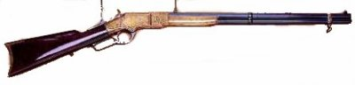 Oliver F. Winchester (1810-1880) invente la carabine la plus célèbre de l'Ouest