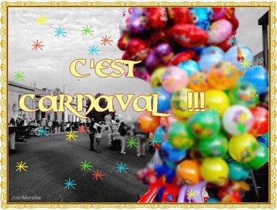 C'est Carnaval les Gens ^^ ! ( dsl du retards :$ )