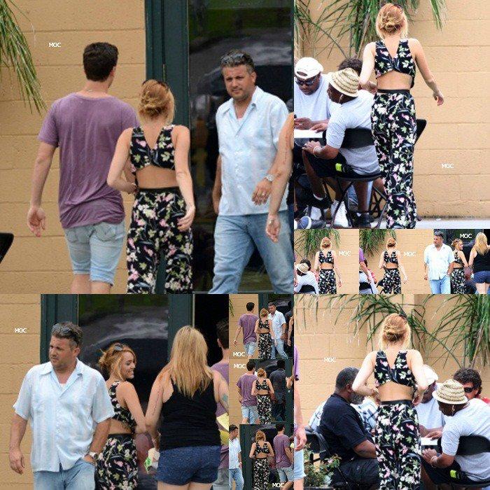 10.06 Liam est allé sur le tournage du film à Miley.