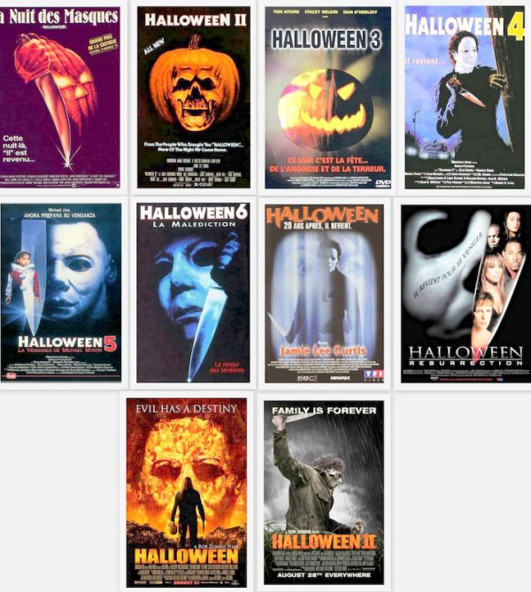 # Halloween La Saga #