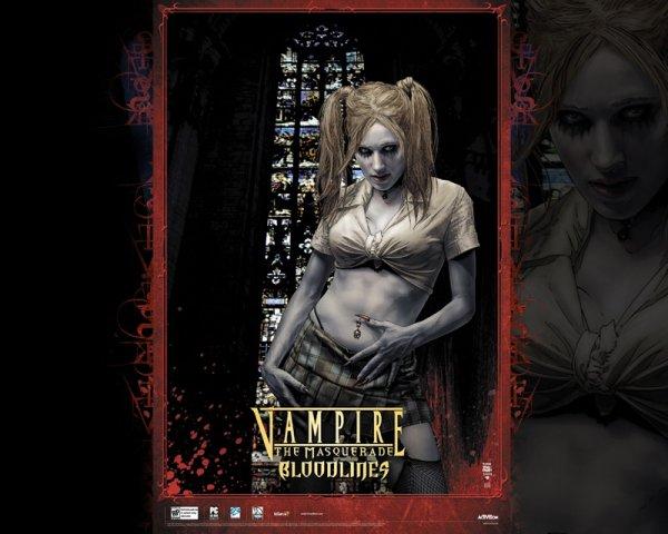 Un jeu que j'adore, mais pas terminé, qu'une passionnée de vampires m'avait conseillé