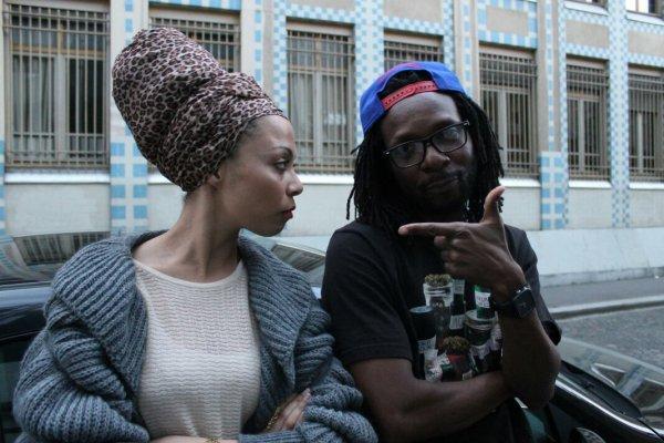 "Tournage du film ""NUIT TEMPORELLE"" avec Maryleen O."