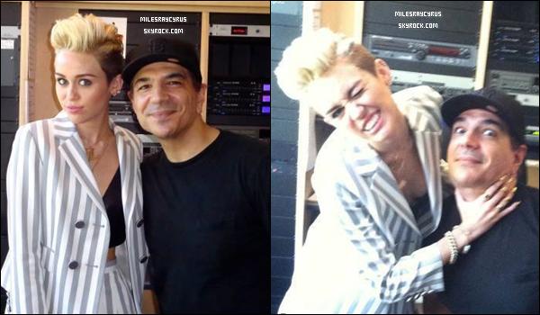 """31/05/13 - Miley, a été aperçue sur le tournage de """"We can't Stop"""""""