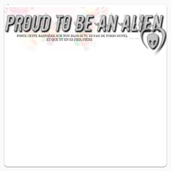 Proud to be an Alien