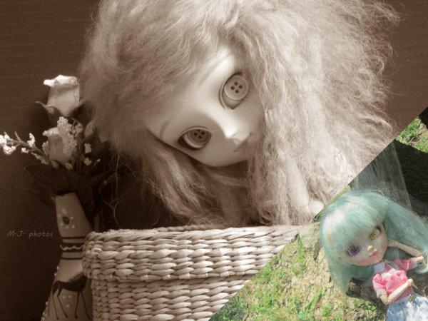 Présentation de mes poupées de collections