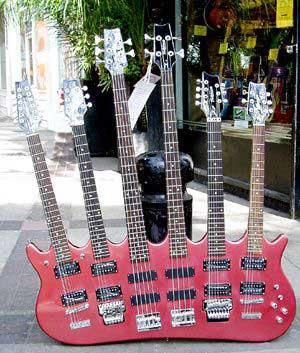 une drole de guitare