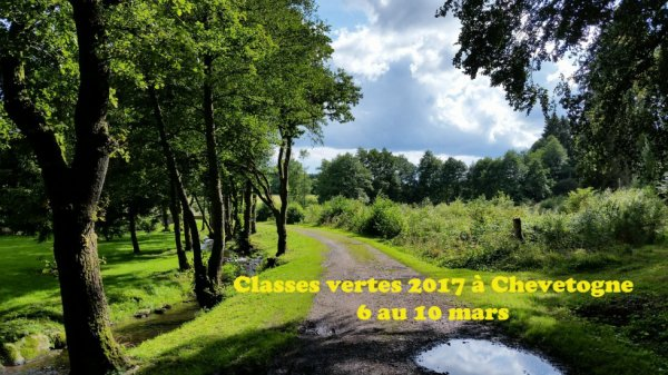 Classes vertes 2017 à Chevetogne