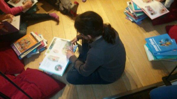 Pause lecture au Mhin