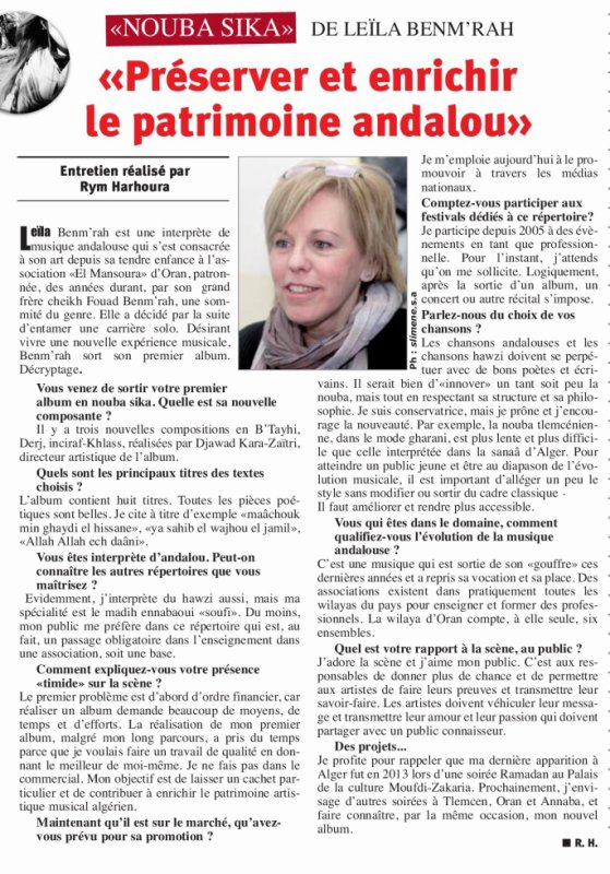Quotidien Horizon du 07/02/2017