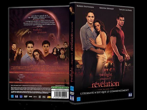 DVD de Breaking Dawn