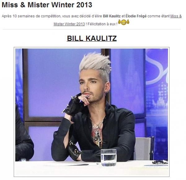 Mister Winter 2013