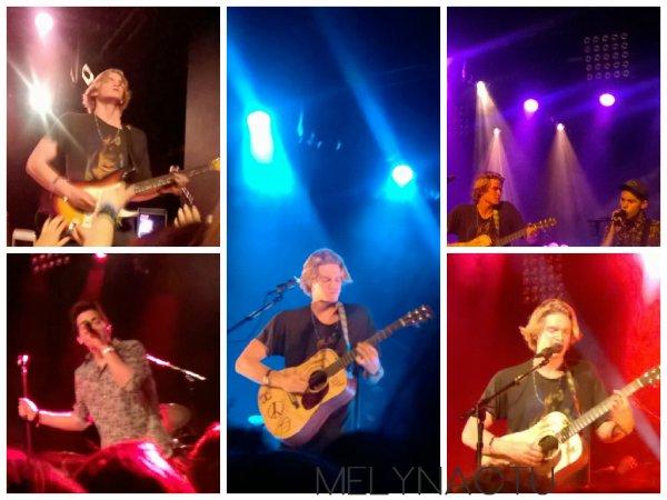 Cody Simpson : Concert du 12 mai 2015 à l'Alhambra (Paris)