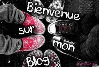 bienvenue sur my blog