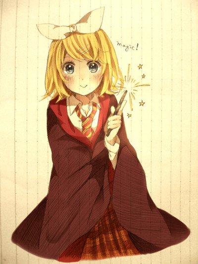 Fiction chapitre 1 : Rin à l'école des sorciers