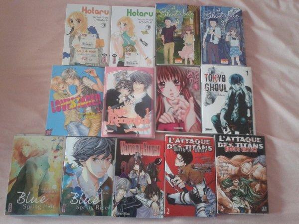 Achat manga/ peluche/ DVD/ Poki   du mois de Juillet !!