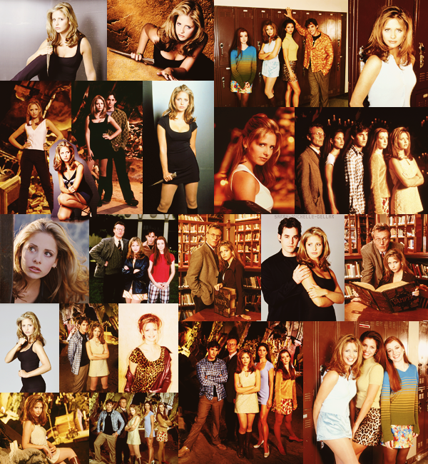 ♡  Buffy Contre Les Vampires.  Photoshoot de la saison 1 -