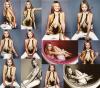 . PhotoshootLa magnifique Sarah en couverture du magazine FHM pour l'édition de Août 2001 ! Un shooting très célèbre chez les fans de Sassy avec sa belle chevelure rousse. J'aime les clichés même si ils sont beaucoup trop simple à mon goût.