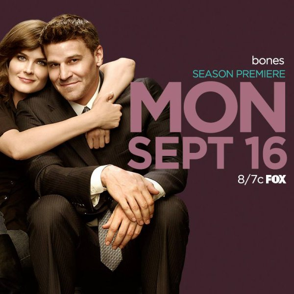 Liste de la diffusion de la saison 9 de Bones sur la Fox ♥