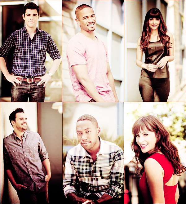 Photos promos New Girl Saison 4 ♥