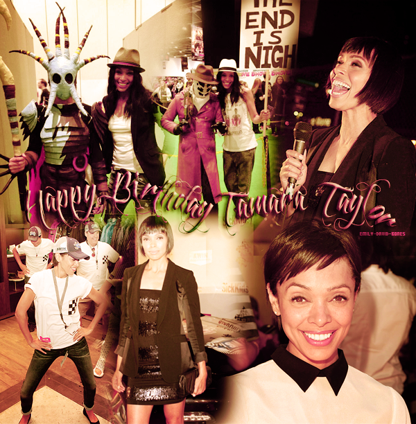 Happy Birthday Tamara ♥