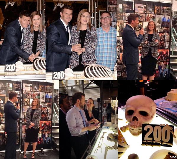 Célébration du 200ème épisode de Bones  (Partie 3) ♥