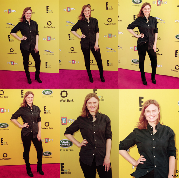 "Emily au ""P.S. ARTS presents Express Yourself 2014"" le 16/11/14 ♥"