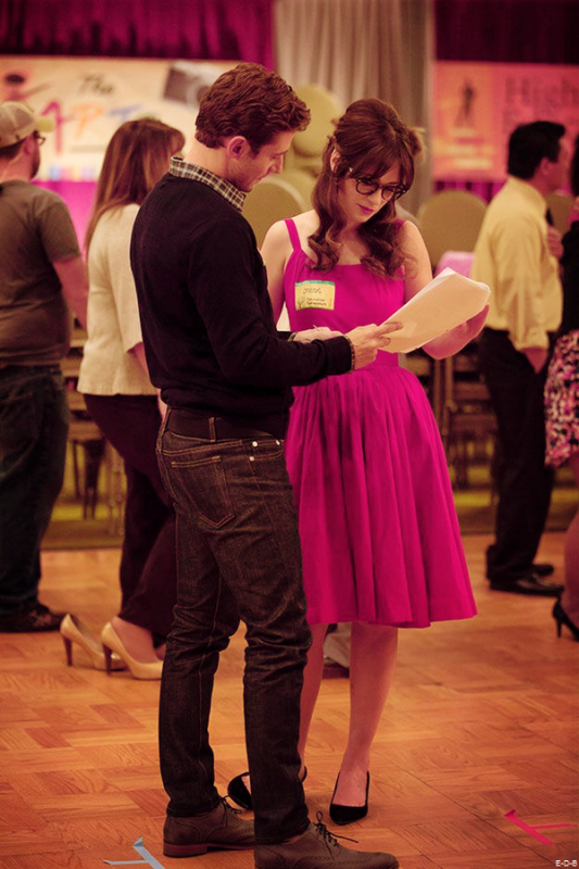 New Girl 4x08 BTS ♥