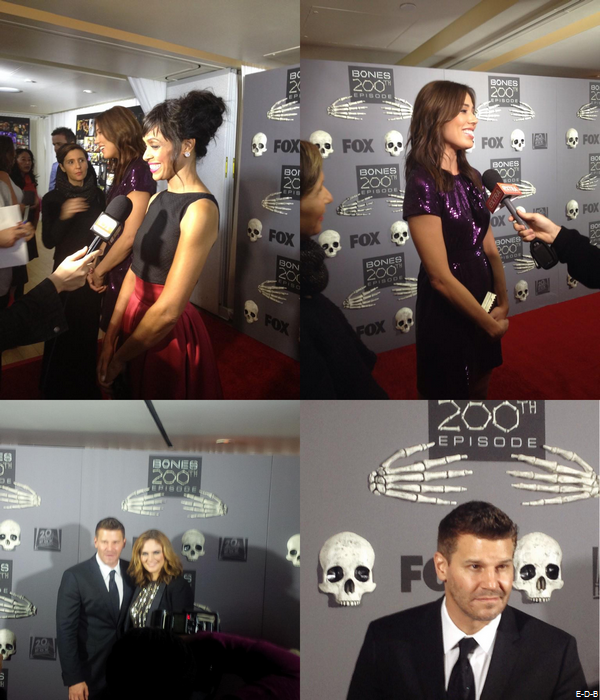 Bones 200th Red Carpet le 08/12/14 ♥