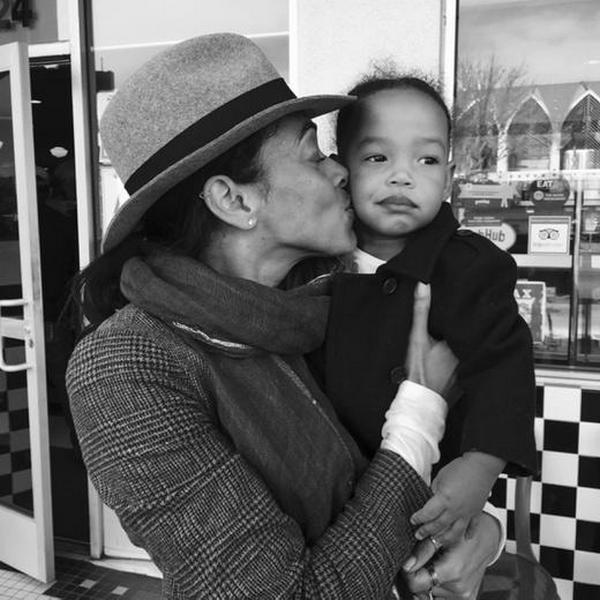 Tamara et sa filleule ♥