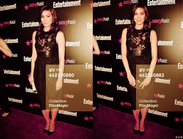 "Michaela au ""Entertainment Weekly's Celebration Honoring The 2015 SAG Awards Nominees"" le 24/01/15 ♥"