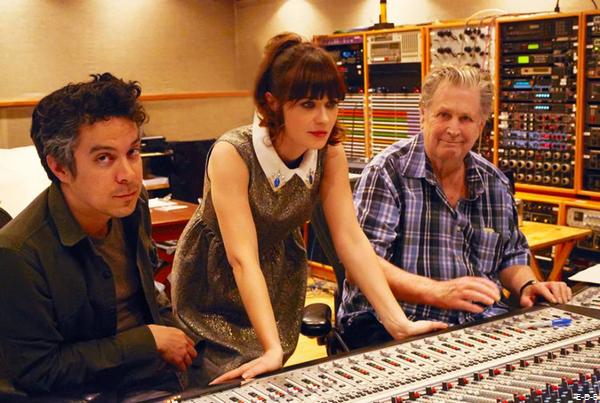 She & Him vont faire une chanson sur l'album de Brian Wilson ♥