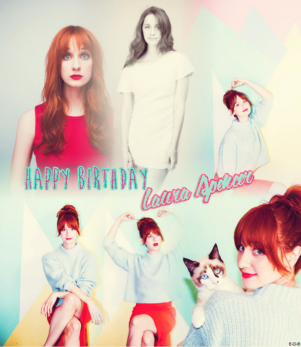 Happy Birthday Laura ♥