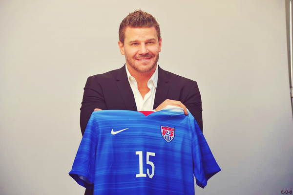 David Boreanaz: One Nation. One Team.