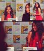 "Tamara Taylor au Comic Con de San Diego pour ""Justice League: Gods and Monsters"" le 10/07/15 ♥"
