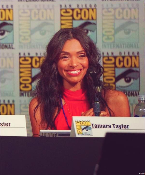 """Tamara Taylor au Comic Con de San Diego pour """"Justice League: Gods and Monsters"""" le 10/07/15 ♥"""