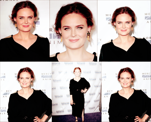 "Emily au ""Merci For Animals: Hidden Heroes Gala"" le 29/08/15 ♥"
