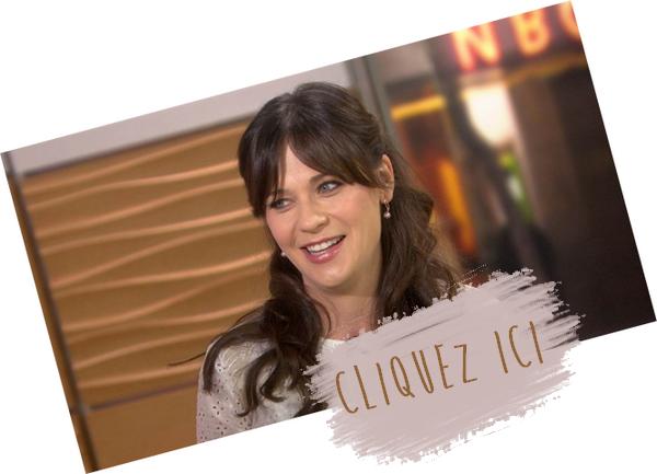"""Candids: Zooey quittant le plateau du """"Today Show"""" le 20/10/15 ♥"""
