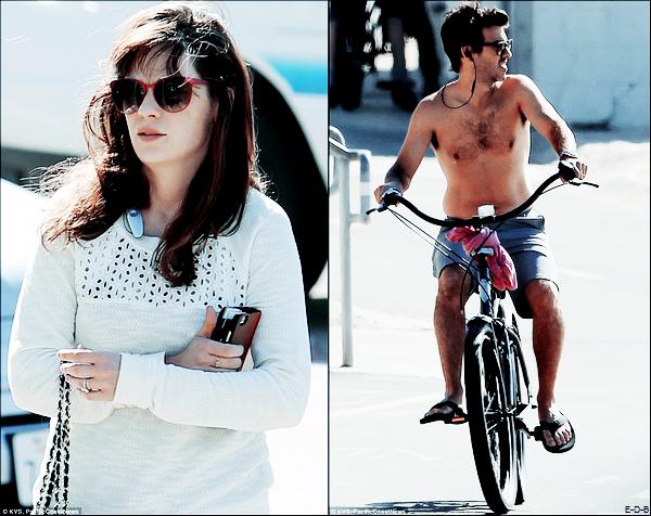 Candids: Zooey & Jacob en promenade à L.A le 16/11/15 ♥